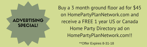 Direct Selling Advertising Special on HomePartyPlanNetwork.com