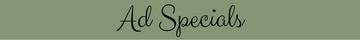 Advertising Specials